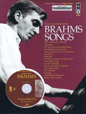 Music Minus One - Johannes Brahms: German Lieder (High Voice)