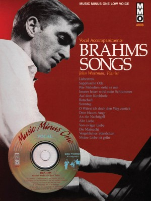Music Minus One - Johannes Brahms: German Lieder (Low Voice)