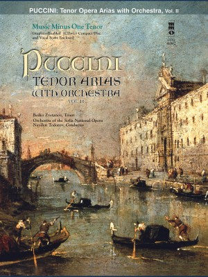 Music Minus One - Giacomo Puccini: Arias For Tenor And Orchestra Vol.II