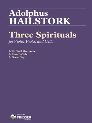 Hailstork, A: Three Spirituals