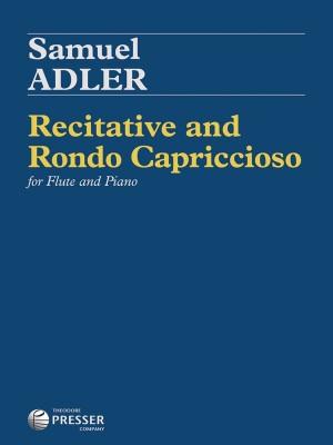 Adler, S: Recitative and Rondo Capriccioso