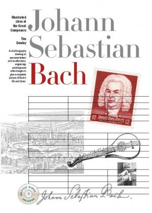New Illustrated Lives Of Great Composers: Bach (Book/CD)