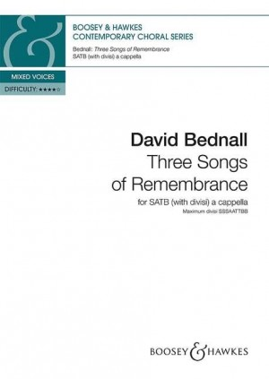 Bednall, D: Three Songs of Remembrance