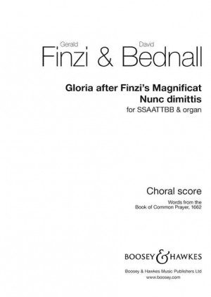 Gloria after Finzi's Magnificat & Nunc dimittis