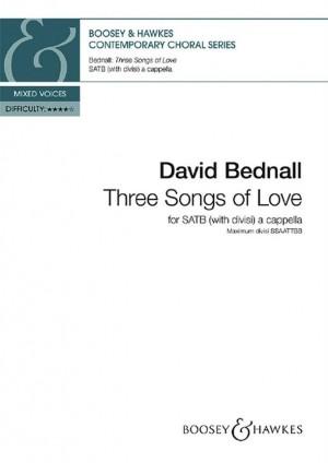 Bednall, D: Three Songs of Love