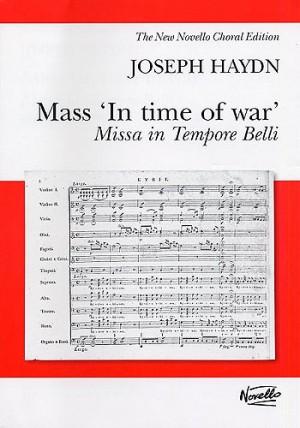 Franz Joseph Haydn: Mass In Time Of War (Vocal Score Ed. Pilkington)