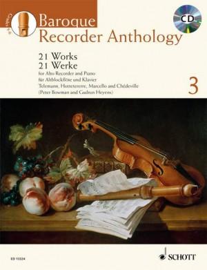 Baroque Recorder Anthology Vol. 3