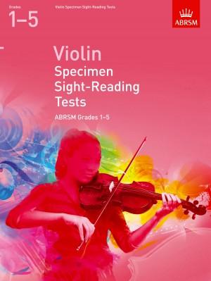 ABRSM Violin Specimen Sight-Reading Tests Grades 1–5 Product Image