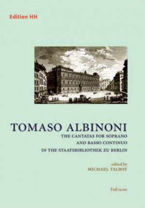 Albinoni, T: The Cantatas for Soprano and basso continuo Product Image