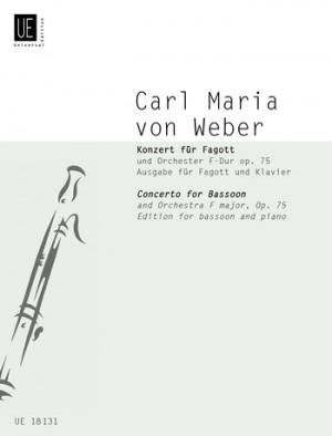 Weber: Weber Konzert Fmaj Op75 Bsn Pft Red Op. 75