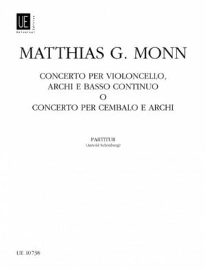 Monn, G M: Concerto