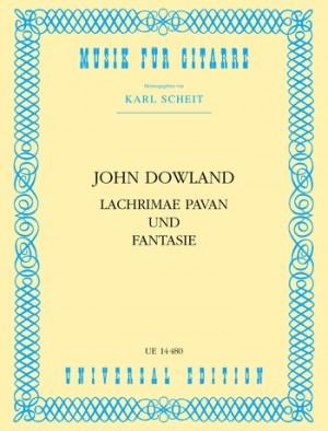 Dowland, J: Dowland Lachrimae Pavan & Fantasy Gtr