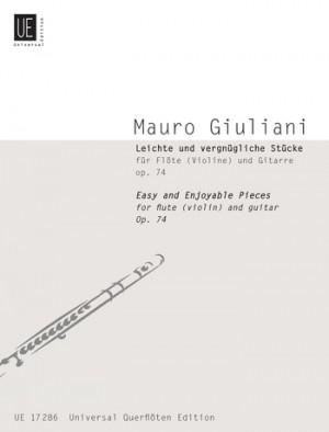 Giuliani, M: Easy and enjoyable pieces op. 74