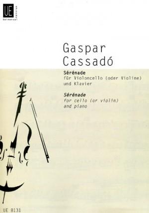 Cassadó, G: Serenade