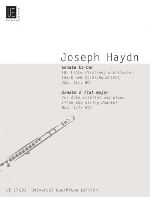 Haydn, J: Haydn Sonate Ebmaj Fl Pft Hob. Iii:80
