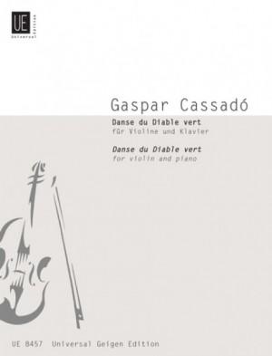 Cassadó, G: Cassado Danse Du Diable Vert Vln Pft