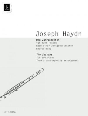 Haydn, J: Haydn The Seasons 2fl Nach Hob. Xxi:3