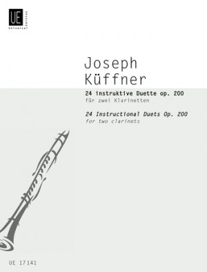 Kueffner, J: 24 instruktive Duets op. 200