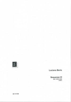 Berio, L: Sequenza VI for viola