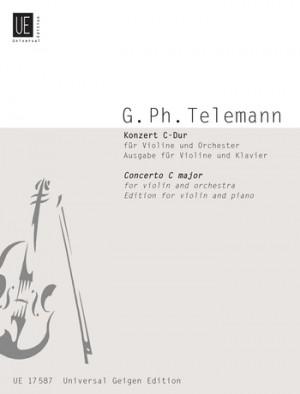 Telemann: Telemann Konzert Cmaj Vln Pft.red