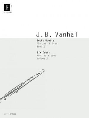 Vanhal, J K: Six Duets Vol.2 2fl Band 2