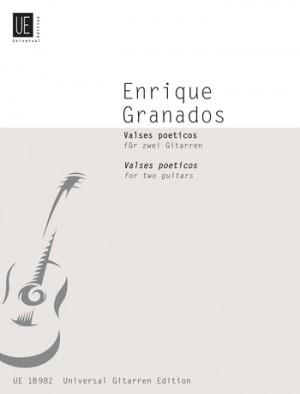 Granados i Campiña, E: Granados Valses Poeticos 2gtr