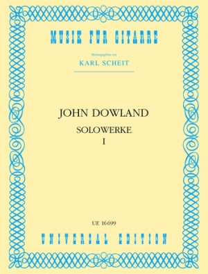 Dowland, J: Dowland Solo Works Vol.1 Gtr Band 1