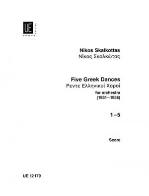 Skalkottas, N: Skalkottas Five Greek Dances Stsc Aus A/k 11