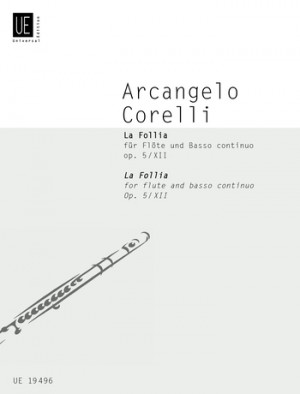 Corelli, A: Corelli La Follia Op5/12 Fl Bc Op. 5/12