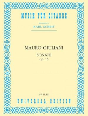 Giuliani, M: Sonata op. 15
