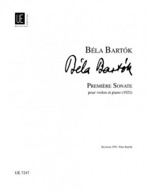 Bartok, B: Première Sonata