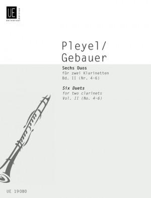 Pleyel-gebauer Six Duets Vol2 2cl Band 2