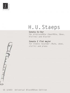 Staeps, H U: Sonata