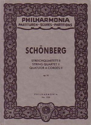 Schoenberg, A: String Quartet No.2 op. 10