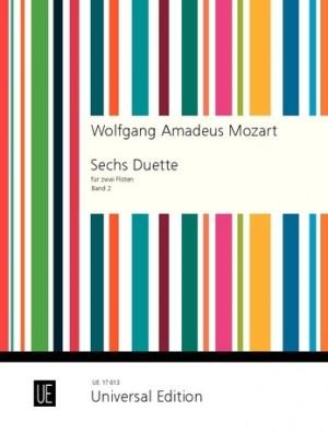 Mozart, W A: Six Duets Band 2
