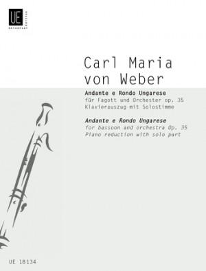 Weber: Weber Andante & Rondo Op35 Bsn Pft Op. 35