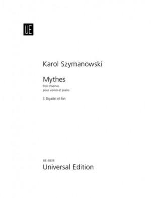 Szymanowski, K: Mythes: 3. Dryades et Pan op. 30/3 Band 3