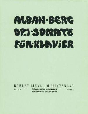 Alban Berg: Sonate op. 1