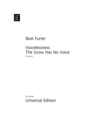 Furrer, B: Voicelessness