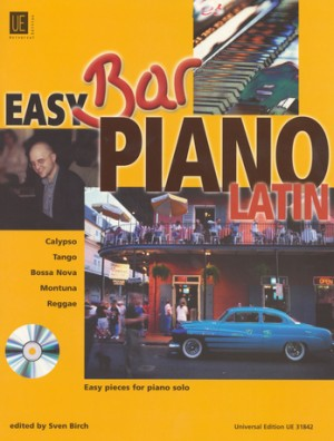 Easy Bar Piano - Latin with CD