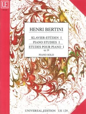 Bertini, H: Etuden Bk.1 Op.29
