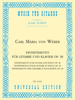 Weber: Weber Divertimento Op38 Gtr Pft Op. 38