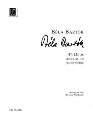 Bartok, B: 44 Duets Band 2