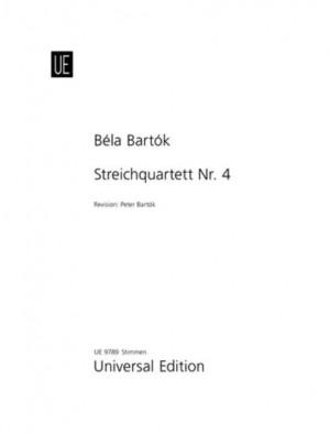 Bartók: String Quartet No.4 Parts