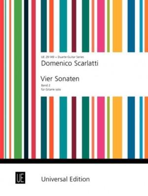 Scarlatti, D: Scarlatti Four Sonatas Gtr Band 2