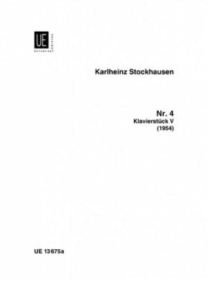 Stockhausen, K: Klavierstück V Nr. 4