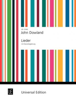 Dowland, J: Songs with Piano - 7 Songs from the Lute Tabulature for voice and piano