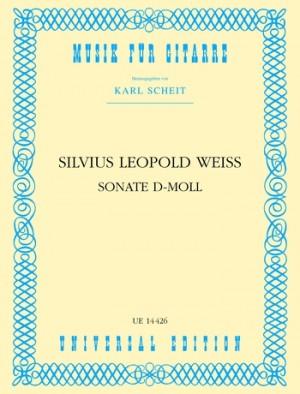 Weiss, S L: Weiss Sonate Dmin S.gtr
