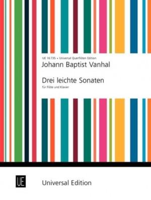 Vanhal, J K: Drei Leichte Sonaten Fl Pft