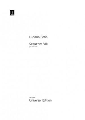 Berio, L: Sequenza VIII for violin